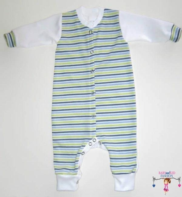 Kezeslábas pizsama fiú