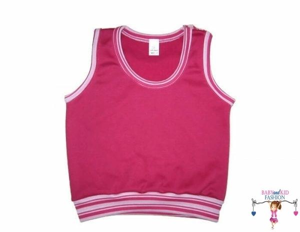baba mellény, pink színű, kislányoknak, 50-146-ig, termékkép.
