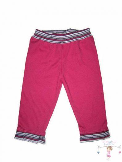 kislány nadrág, pink színű, hosszú szárú, kisbabáknak, termékkép.