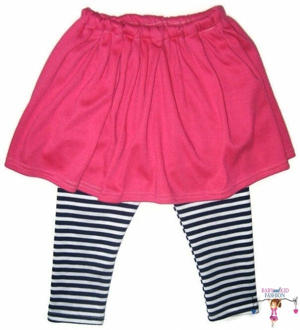 lányka leggings, hosszú szárú, szoknyás, kisbabáknak, termékkép.