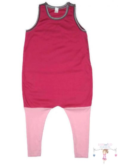 tipegő hálózsák, lányos, pink, kisbabáknak, termékkép.