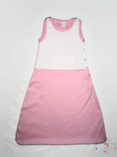 baba hálózsák, lányos, rózsaszín, termékkép.