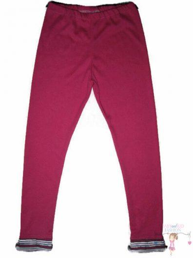 baba leggings, pink csíkos, hosszú szárú, kislányoknak, termékkép.
