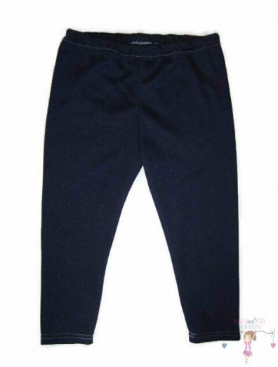 baba leggings, sötétkék színű, hosszú szárú, kislányoknak, termékkép.