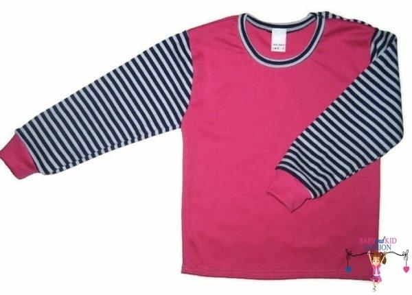 kislány pulcsi, pink színű, vállnál patentos, kisgyerekeknek, termékkép.