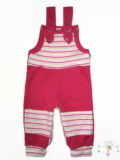 baba kertésznadrág, pink színű, hosszú szárú, kisbabáknak, termékkép.