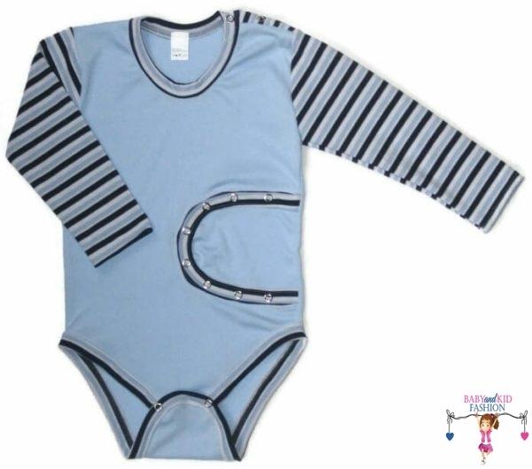 baba body, hosszú ujjú, peg body, kisbabáknak, termékkép.