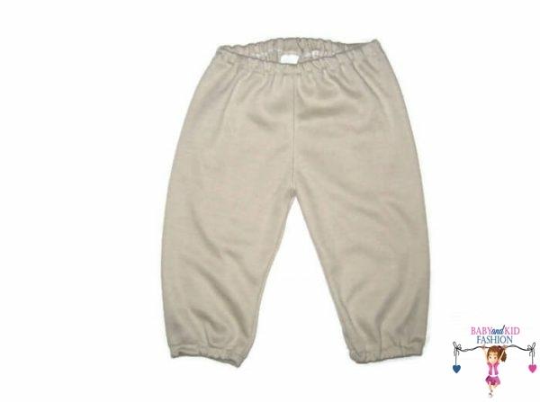 kisfiú nadrág, drapp színű, kisbabáknak, termékkép.