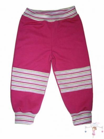 baba nadrág, pink színű, kislányoknak, termékkép.