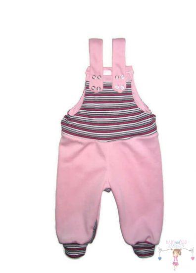 gyerek kertésznadrág, rózsaszín, kisgyerekeknek, termékkép.
