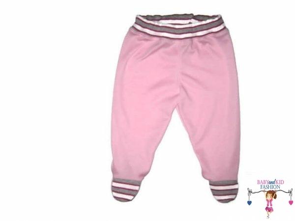 baba talpas nadrág, rózsaszín színű, kisgyerekeknek, termékkép.