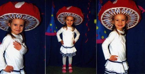 Babyandkidfashion kislány szoknya, fodros szoknya egy mosolygós kislányon, kép.