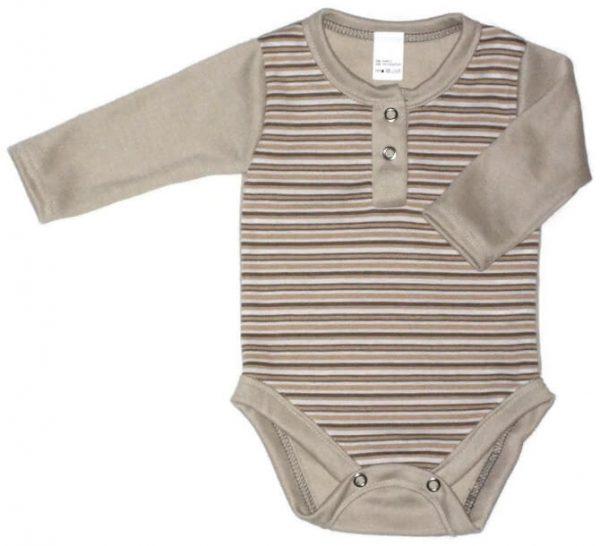 baba body, drapp csíkos, kisbabáknak, termékkép.