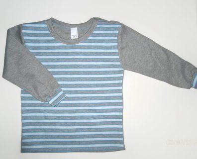 Gyerek hosszú ujjú póló, kisfiúknak, termékkép.