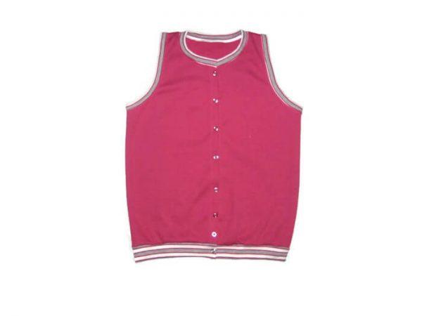baba mellény, pink színű, lányka, termékkép.