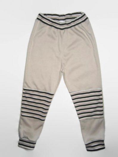 Baba nadrág, drapp,, dupla térdfolttal, hosszú nadrág, termékkép.