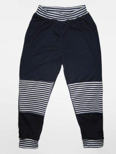 Baba nadrág, fiúnak, dupla térdfolttal, hosszú nadrág, termékkép.