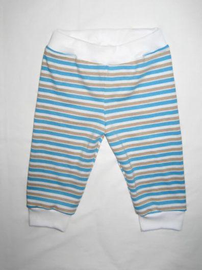 baba nadrág, kék csíkos, kisfiúknak, termékkép.
