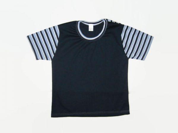 gyerek póló, sötétkék, termékkép.
