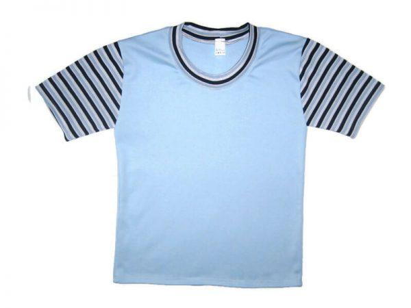 gyerek póló, világoskék színű, termékkép.