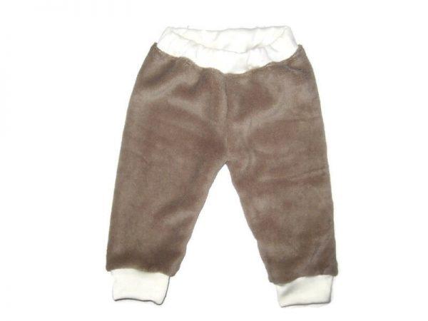 baba téli nadrág, wellsoft, kávébarna színű, kisfiúknak, termékkép.